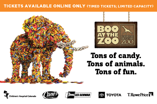Get your tickets for Boo at the Zoo