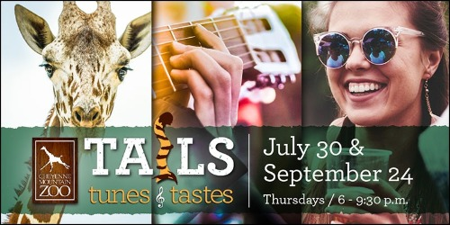 Get your tickets for Tails, Tunes & Tastes