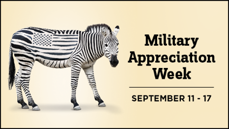 Military Appreciation Week September 11-17, 2017