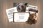 Grizzly Wild Adoption Gift Package
