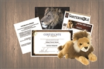 Lion Wild Adoption Gift Package