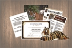 Tiger Wild Adoption Gift Package